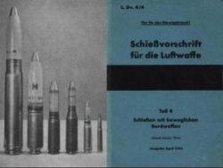 Книга Schiessvorschrift für die Luftwaffe.  Teil 4 - bewegliche Bordwaffe