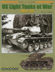 Книга US Light Tanks at War 1941-45