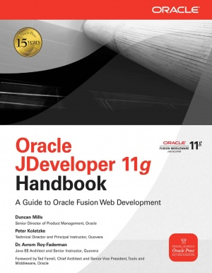 Журнал Oracle JDeveloper 11g Handbook - A Guide to Oracle Fusion Web Development