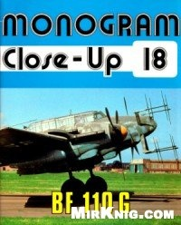 Книга Bf 110 G (Monogram Close-Up 18)