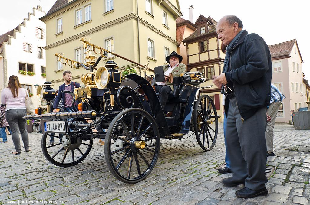 30. Ретроавтомобиль в музее под открытым небом Ротенбург-на-Таубере