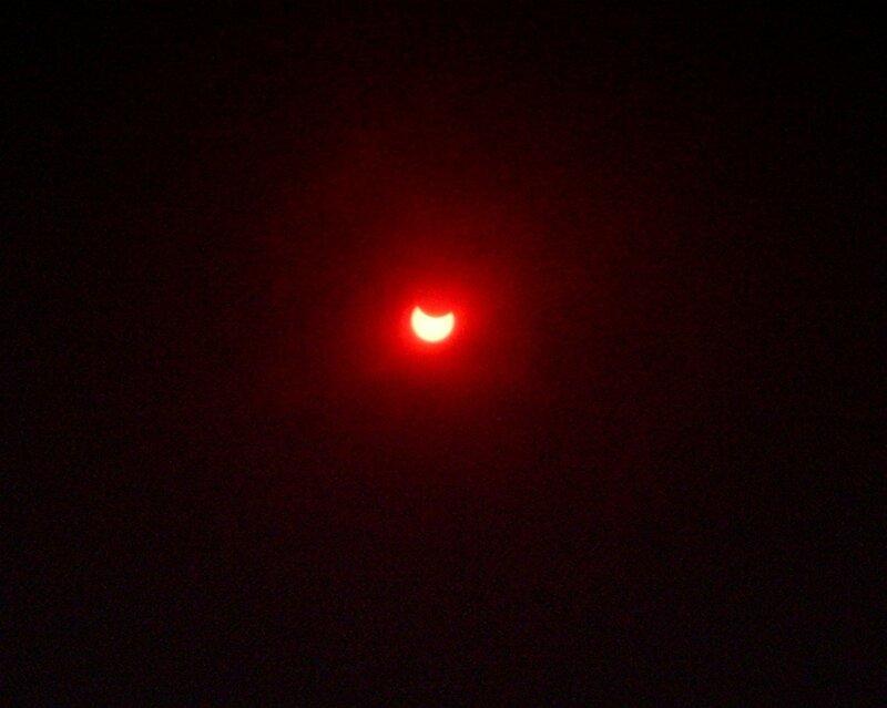 Солнечное затмение (solar eclipse)