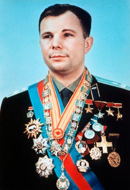 В разное время Юрий Гагарин был отмечен иностранными наградами
