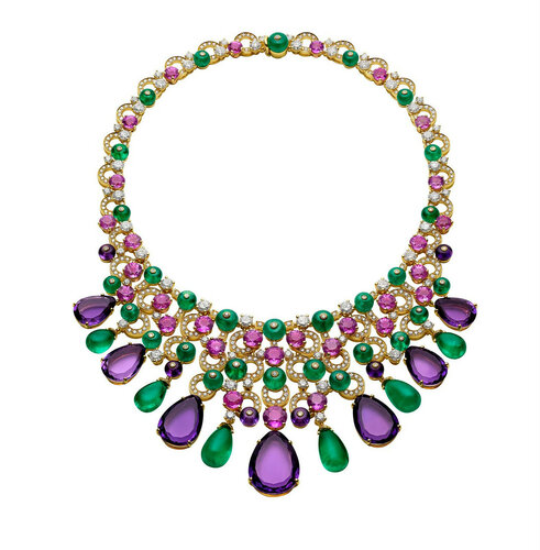 Bulgari - Emerald and Gold Jewelry