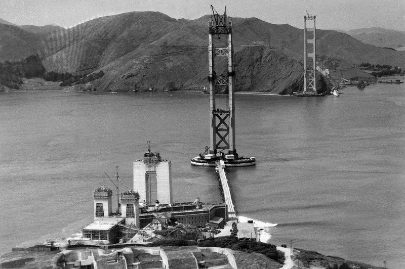 Watchf Associated Press Domestic News  California United States APHS56467 GOLDEN GATE CONSTRUCTION 1934