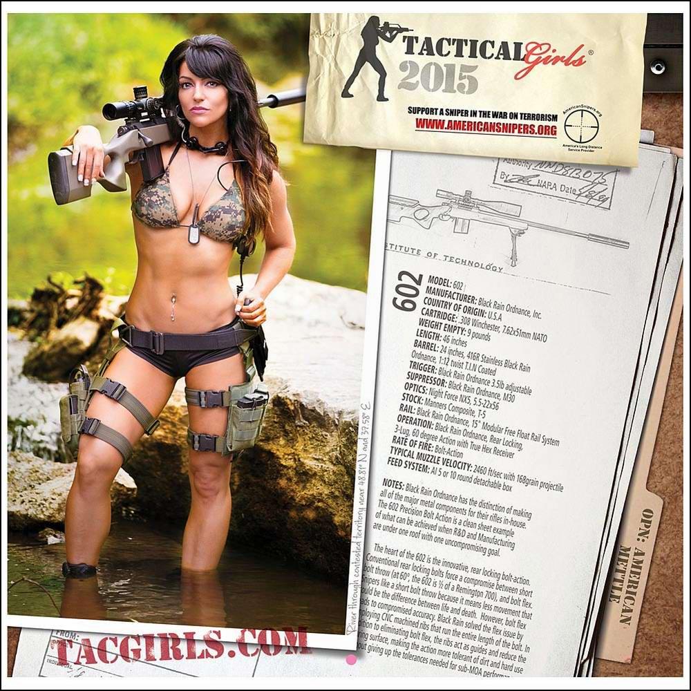 Стрелковый календарь Tactical Girls (18)