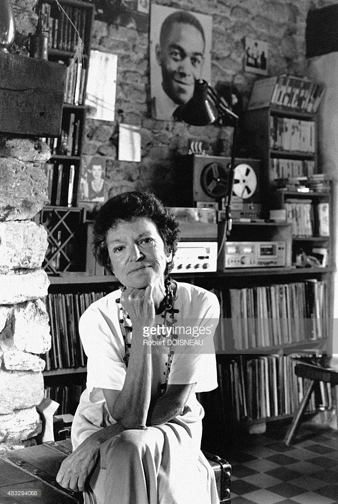1988. Портрет Чен Паркер, бывшей жены известного джазмена Чарли Паркера