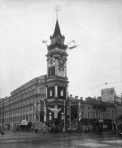 1918. Празднование 1-ой годовщины Октябрьской революции в Петрограде