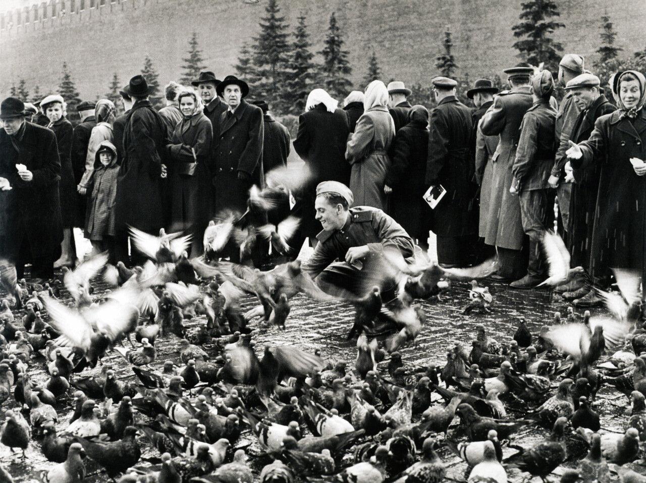 1947. Красная площадь. Москва