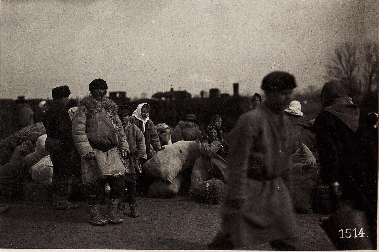 Беженцы. (21/III.1918)