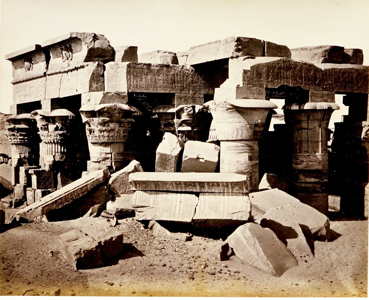 Храм Комамбу. 1860