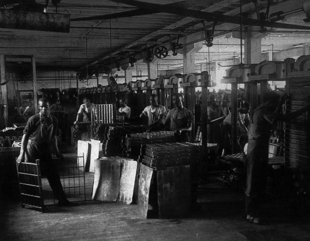 1900. Табачная фабрика Т.Б. Уильямса, Ричмонд
