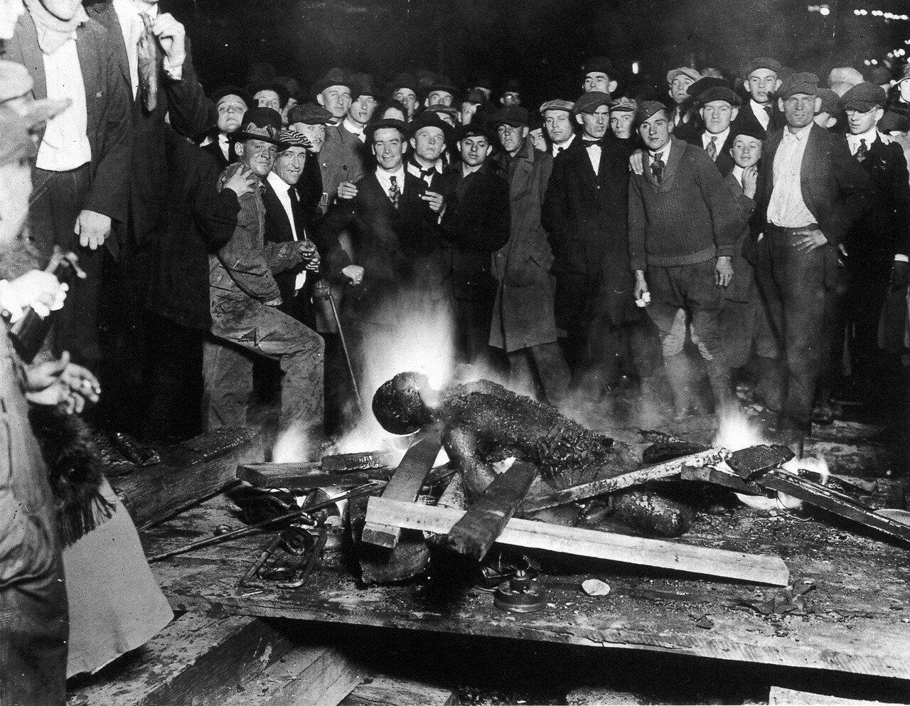 1919. 28 сентября Линчевание в Омахе, Небраска