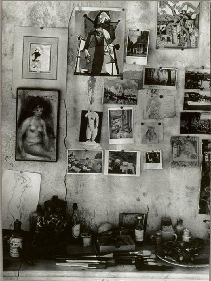 1946. Мастерская Пьера Боннара