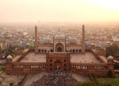 Jama Masjid in New Delhi, India