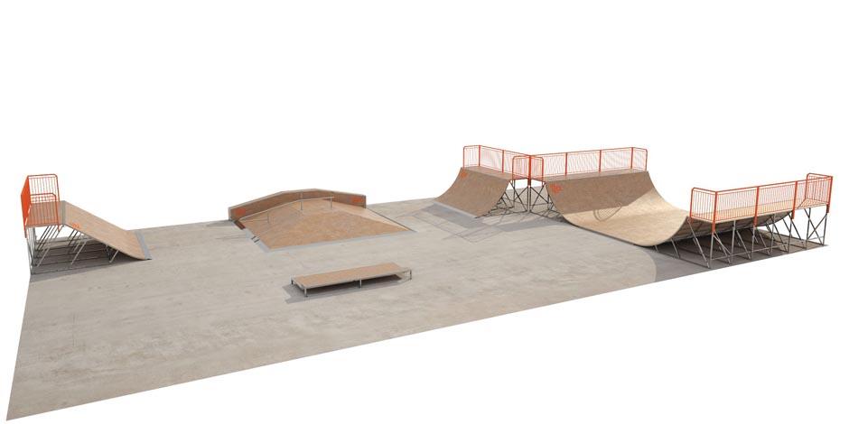 На «Скитских прудах» установят скейт-парк