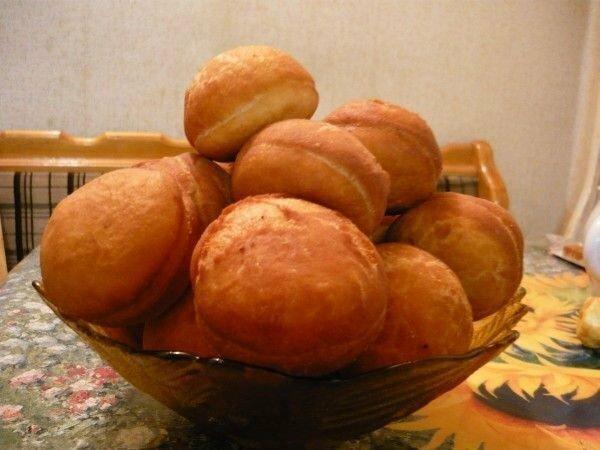 Пончики воздушные на два укуса!