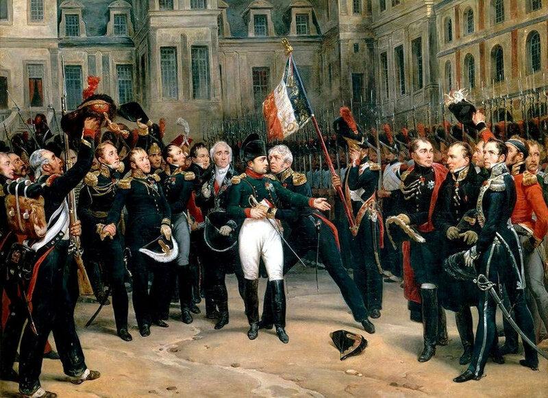 Наполеон прощается со своей гвардией.jpg