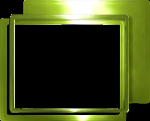 зеленые рамки