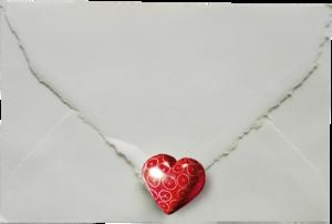 письма с сердцами