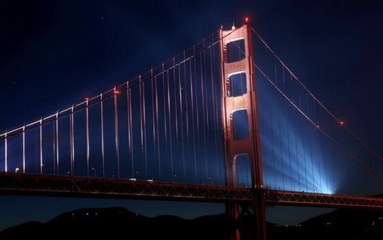 Мост Golden Gate Bridge в Сан-Франциско