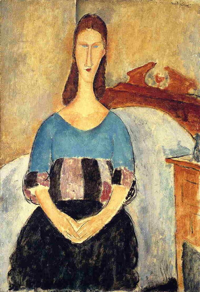 Jeanne Hebuterne - 1919 - Israel Museum - Painting - oil on canvas.jpeg