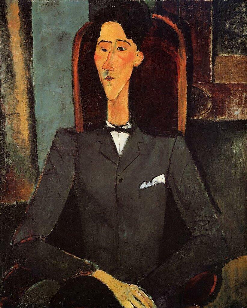 Portrait of Jean Cocteau - 1917 - PC - Painting - oil on canvas.jpeg