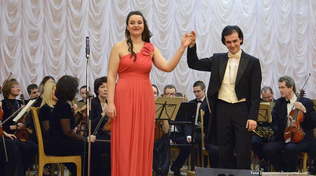Вечер итальянской арии Гомельский симфонический оркестр