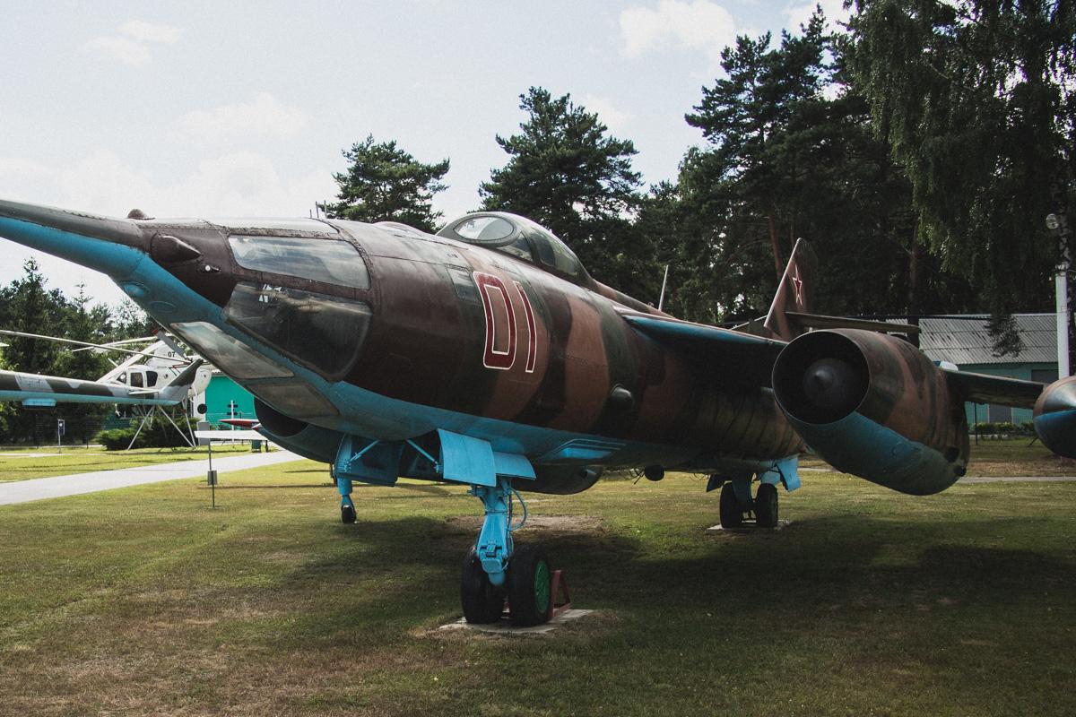 Як-28ПП — самолет радиоэлектронной борьбы. Создан на базе Як-28 — советского многоцелевого боевого с
