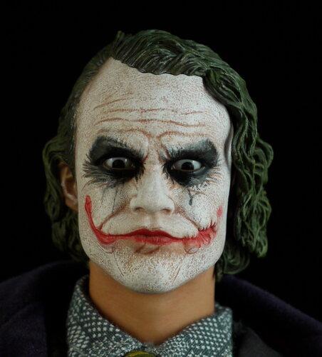 Грим на хэллоуин джокер в домашних условиях