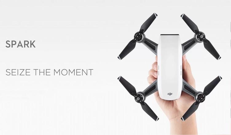 DJI Spark: карманный дрон, которым можно управлять при помощи жестов