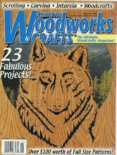 Журнал Creative Woodworks & Crafts №11 2001