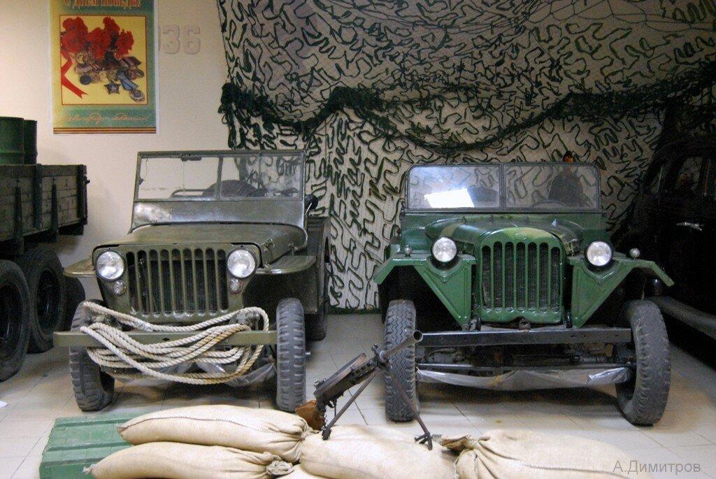 Willys и ГАЗ-67