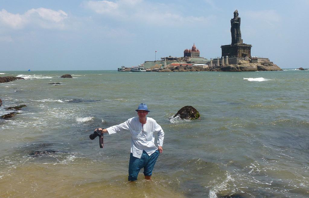 Фото 16. Каньякумари. Наконец-то, автор смыл прах с ног в Индийском океане. Туры в Кералу