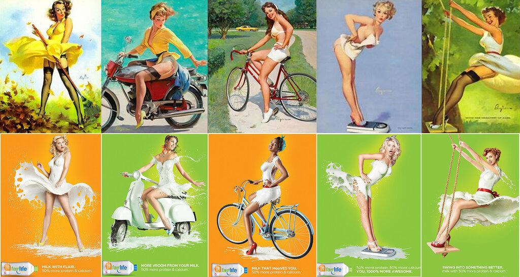 Реклама молока Fairlife