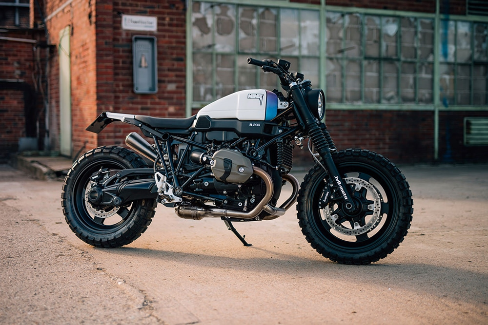 JvB-Moto: кастом BMW R nineT Scrambler