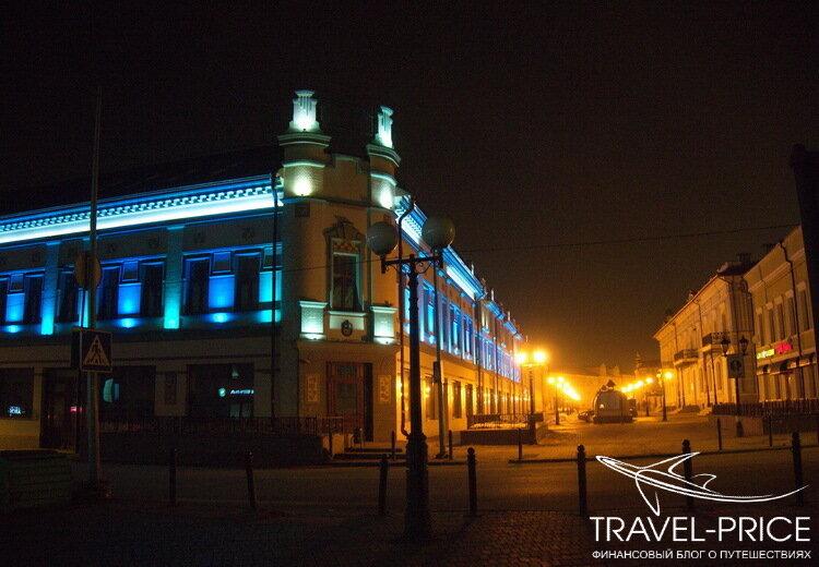 ночь в Казани: улица БАумана