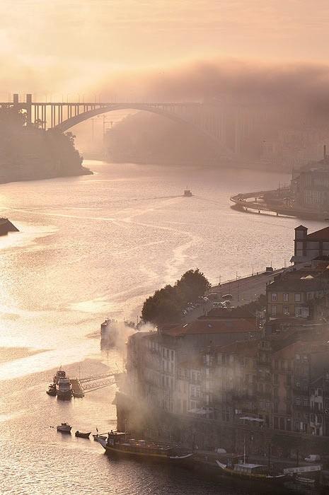 Сауль Сантос Диас, Мост Аррабида, Порту, Португалия