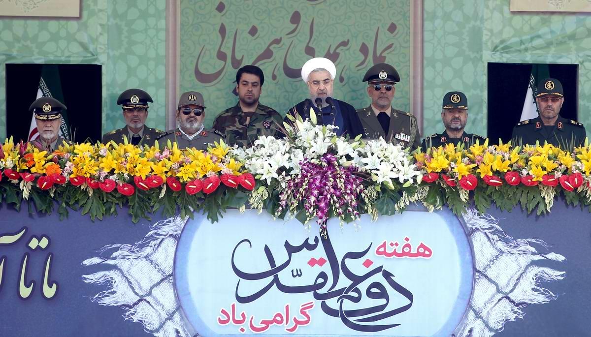 К 35-летию с момента начала ирано-иракской войны: Военный парад в Тегеране (3)