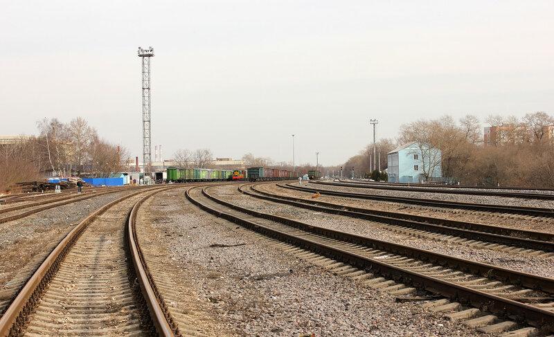 Станция Ростокино, грузовая работа