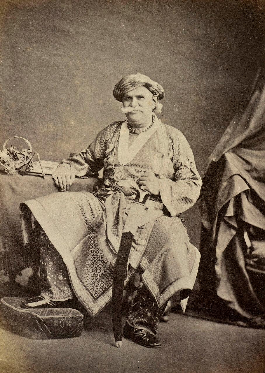 12. Махараджа Бенареса (1822-89)