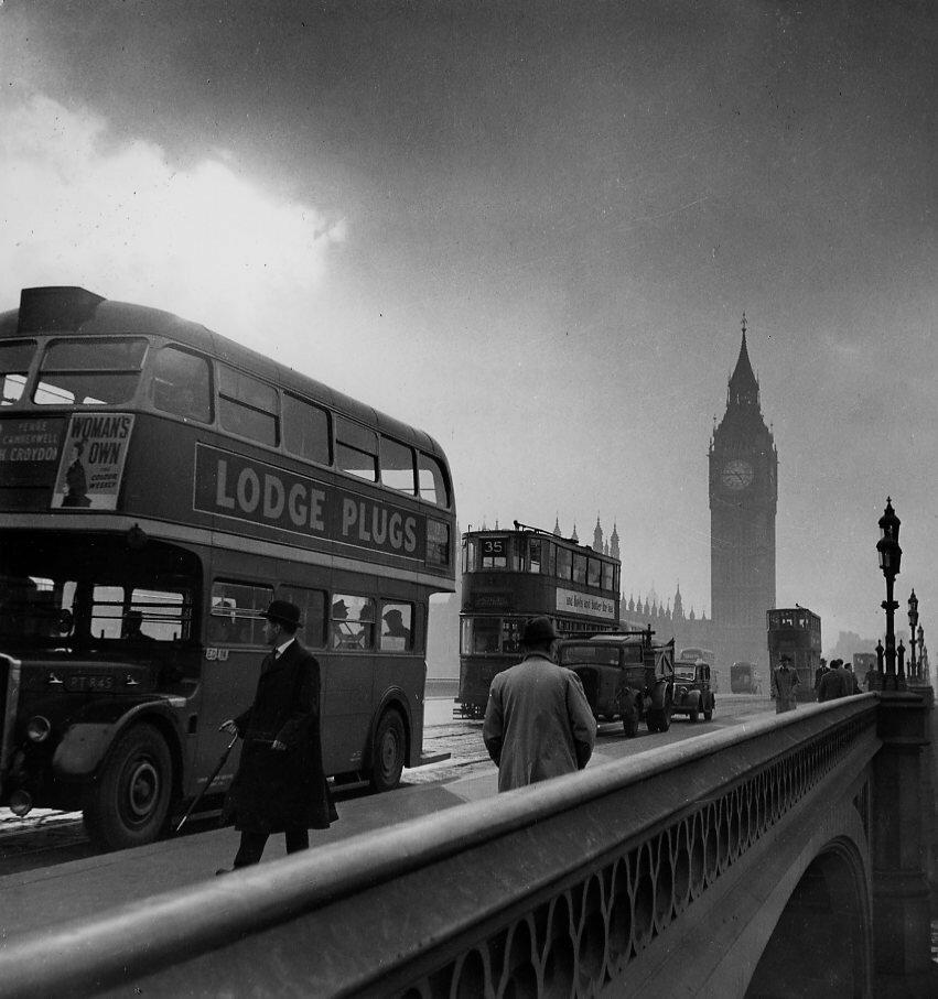 1950. Лондон