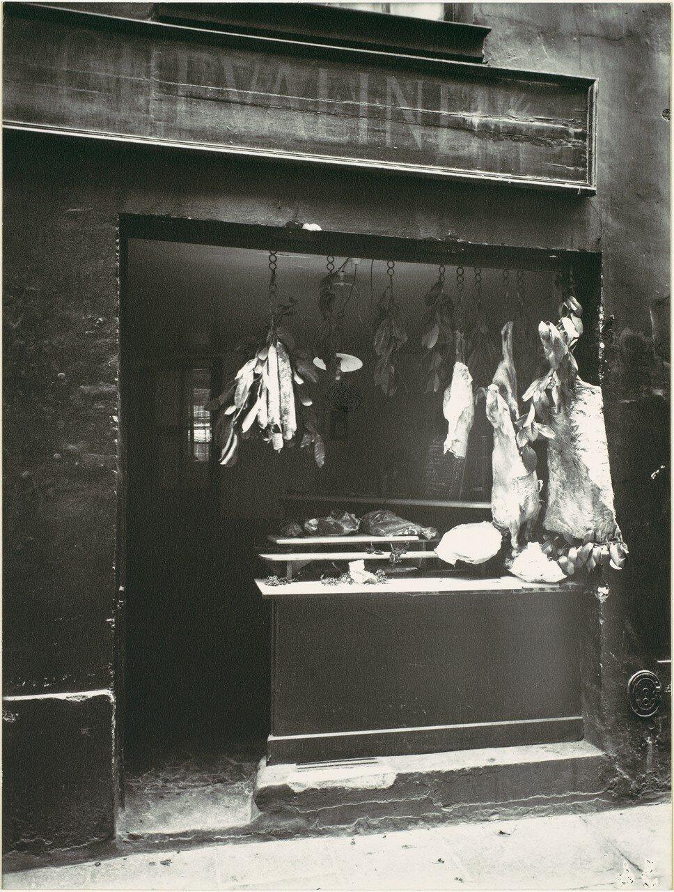 1920-е. Мясной магазин, улица Кристин