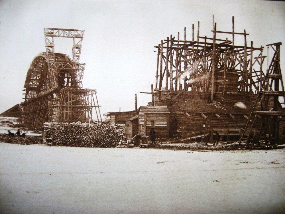 12. Виды постройки Бурейского моста