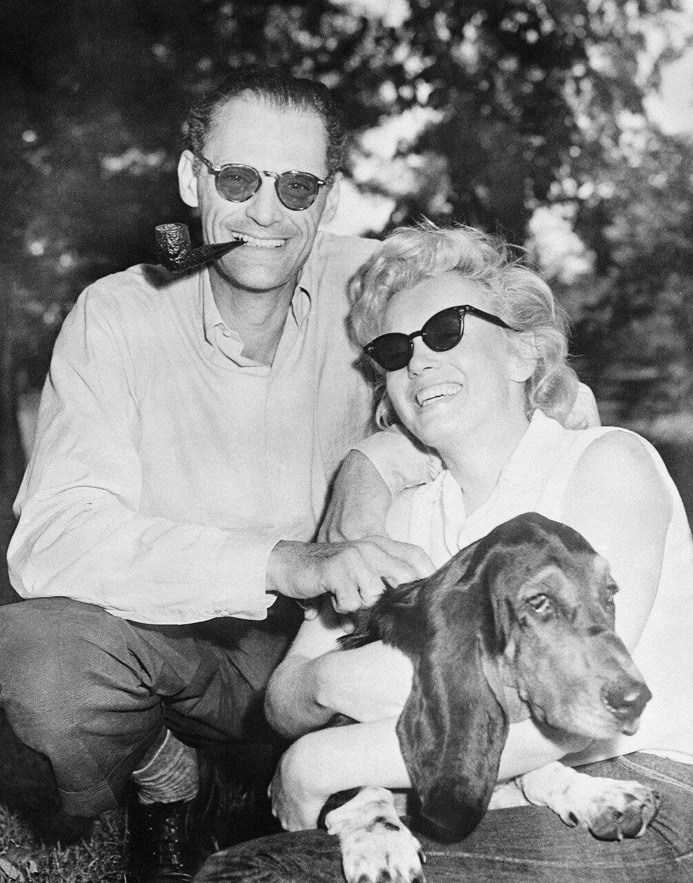Marilyn Monroe, Arthur Miller, and Hugo
