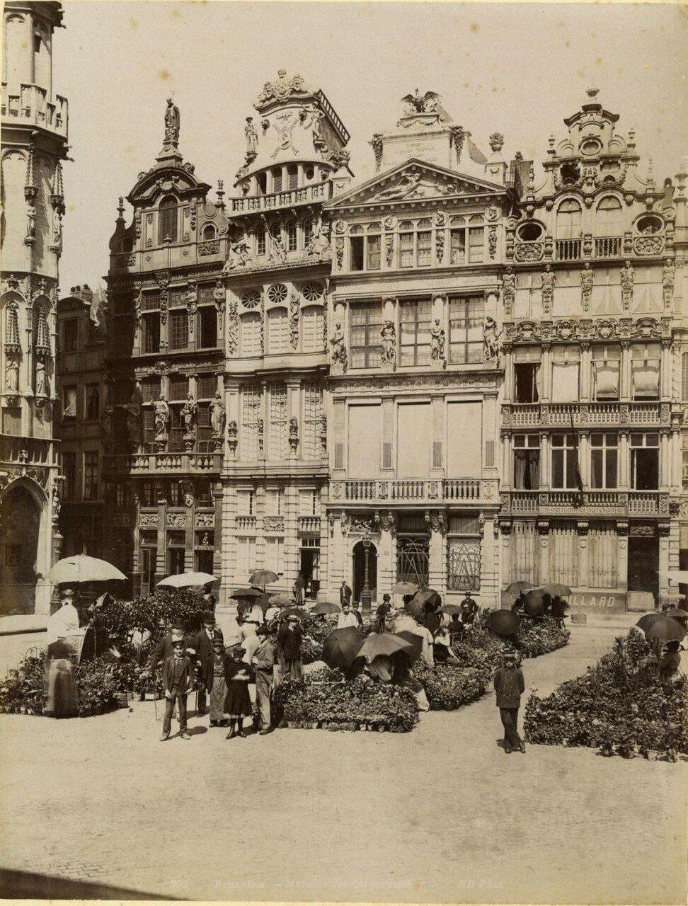 Дом Гильдий на площади Гран-плас