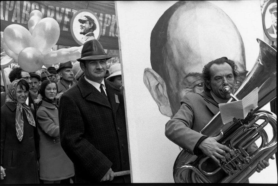 1972. Таллин. Празднование Дня 1 мая