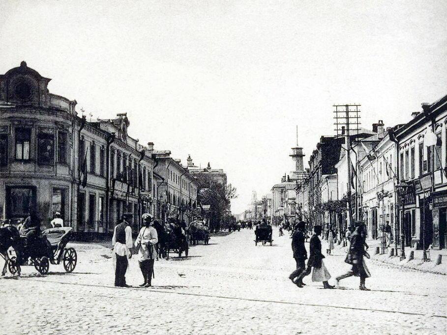 224. Площадь Разгуляй. Новая Басманная улица.1902