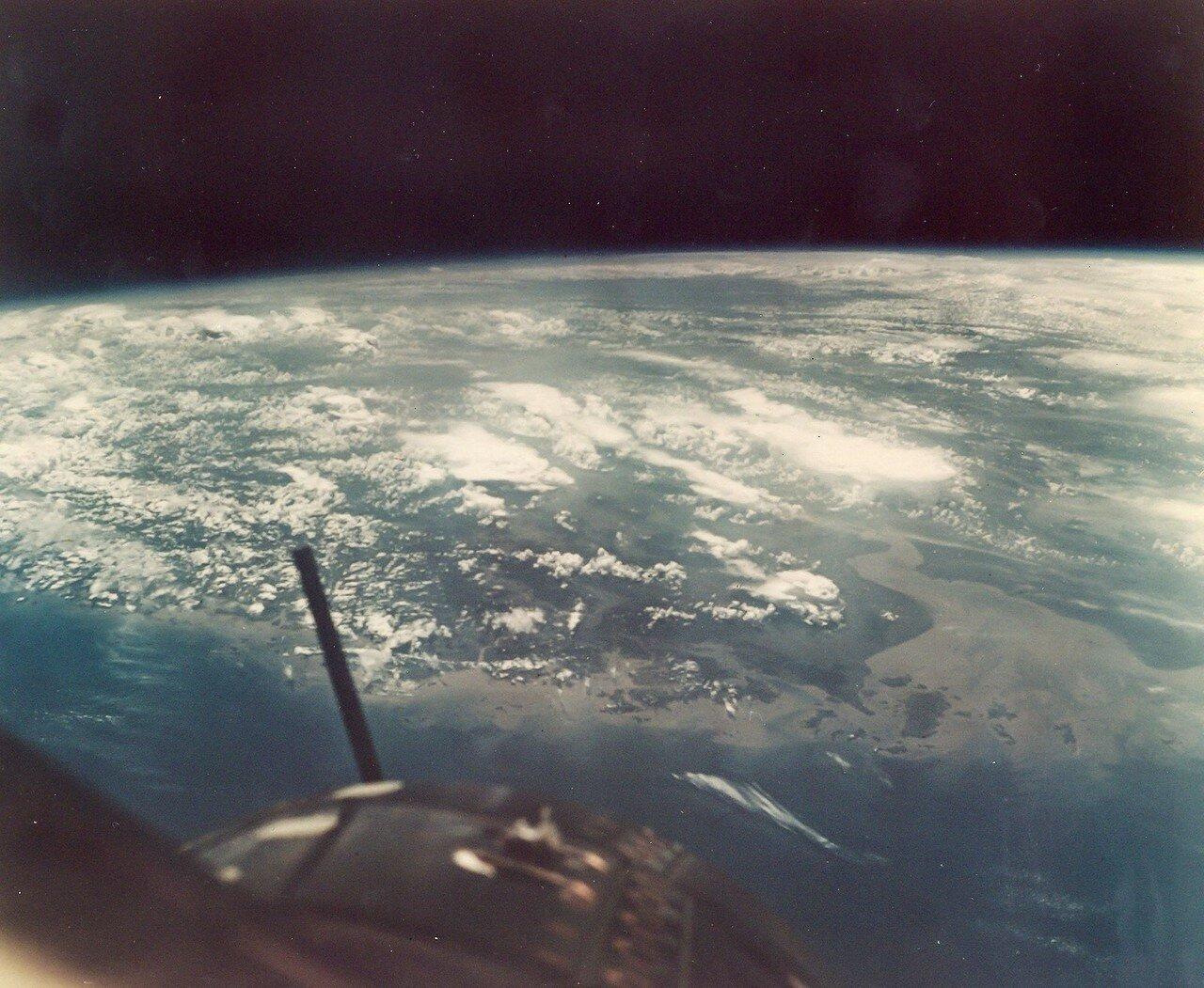 1966, июль. Китай и Тайвань из Космоса. Джемини-10