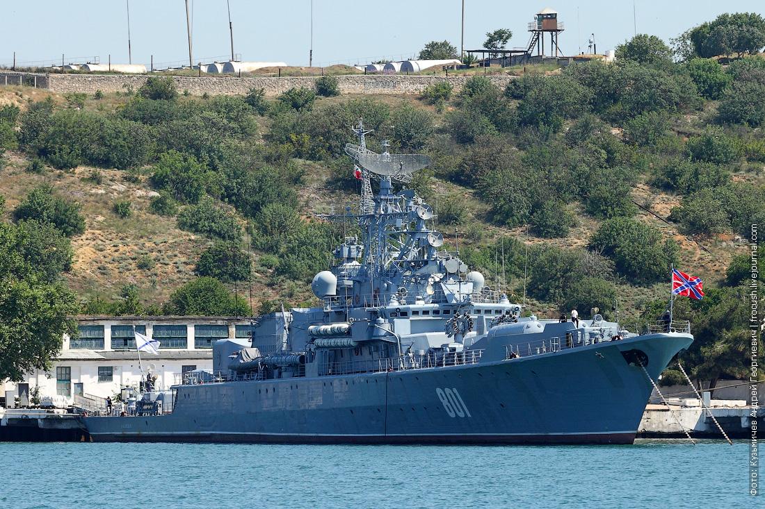 Сторожевой ракетный корабль Ладный